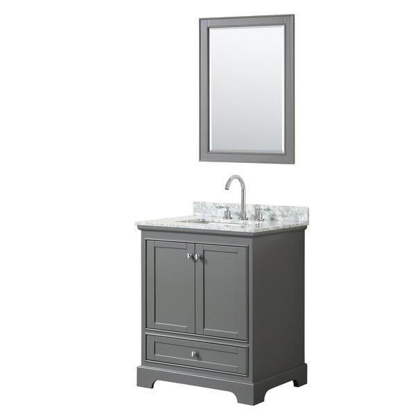 Deborah 30 Single Bathroom Vanity Set with Mirror