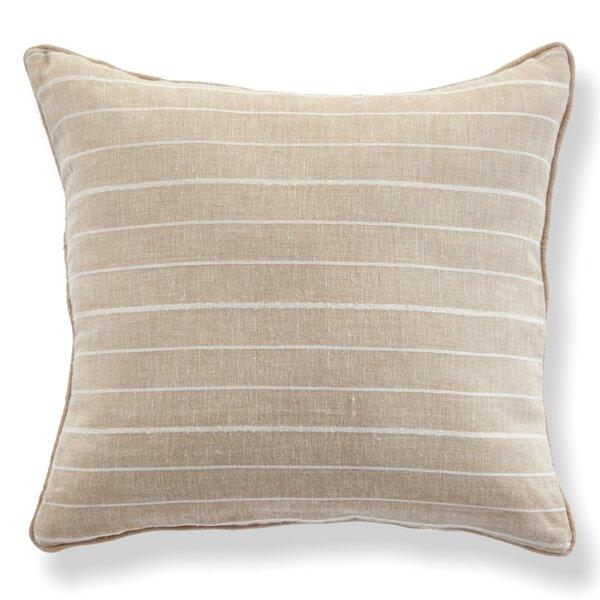 Romana Linen Throw Pillow by Highland Dunes