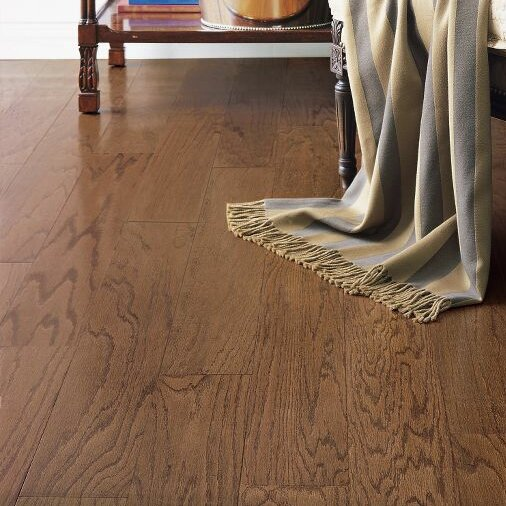 Turlington 3 Engineered Oak Hardwood Flooring in Saddle by Bruce Flooring