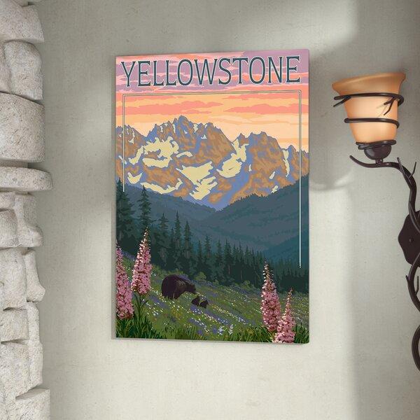 Yellowstone Art Print Home Decor Wall Art Museum Art Print -Gicl\u00e9e Art- National Park art print -Wholesale Yellowstone national park