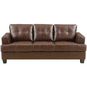 Red Barrel Studio Wellhead Leather Sofa