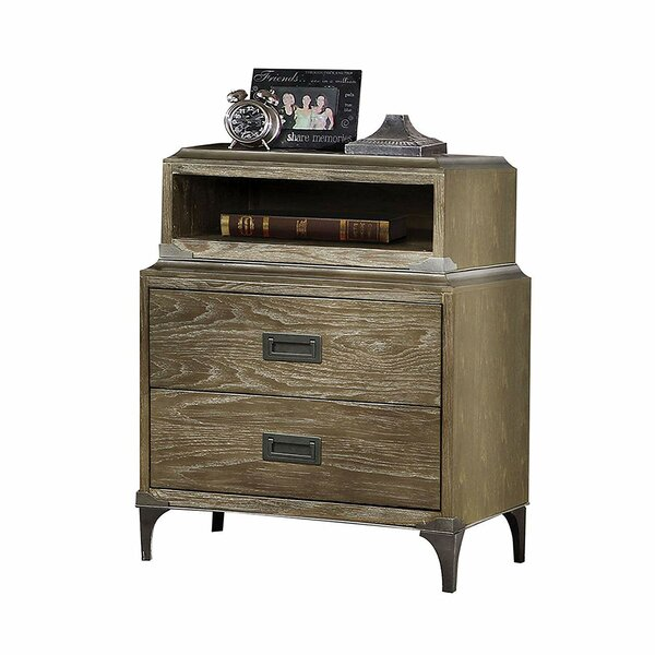 Woodring 3 Drawer Nightstand by Foundry Select