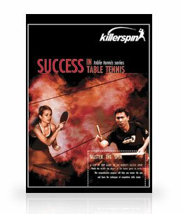 Success in Table Tennis 2nd Edition DVD by Killerspin
