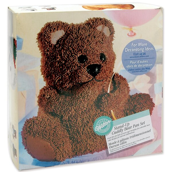 Teddy Bear Novelty Cake Pan by Wilton