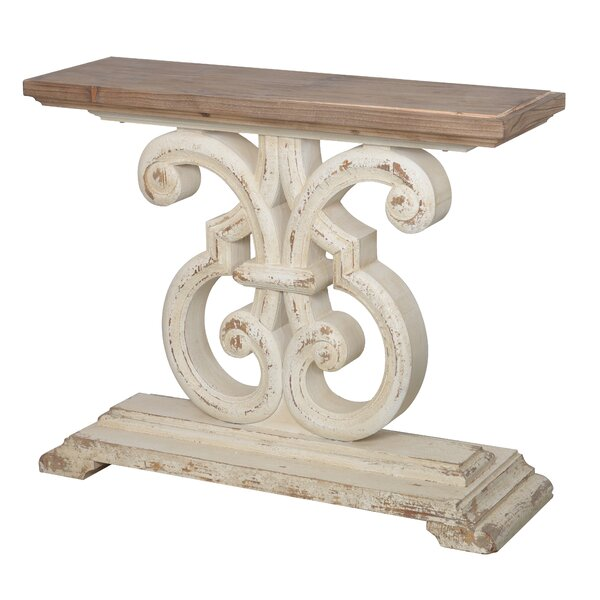 A&B Home White Console Tables