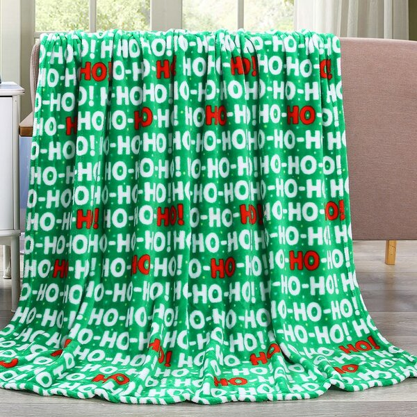 Davila HoHoHo Throw by The Holiday Aisle