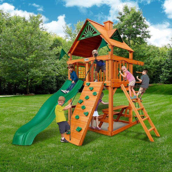 Chateau Tower Playset by Gorilla Playsets