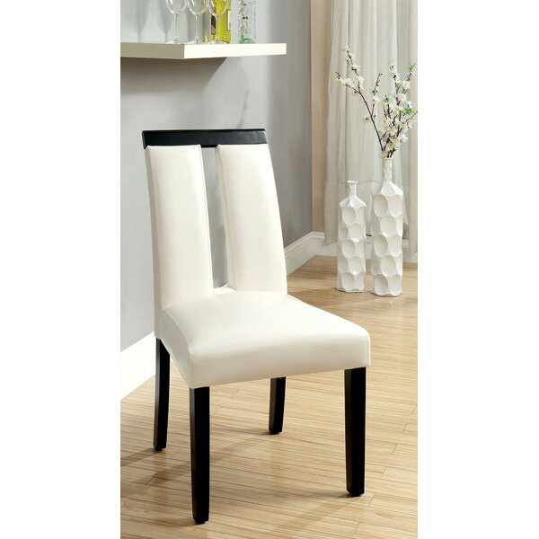 Walls Upholstered Dining Chair (Set of 2) by Orren Ellis