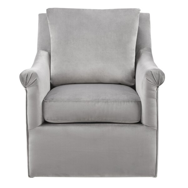 Lauretta Swivel Armchair by Alcott Hill