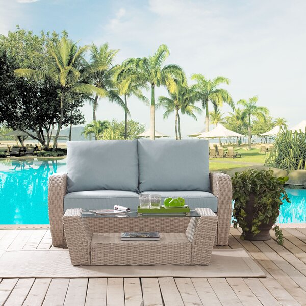 Boomer 2 Piece Sofa Set with Cushions by Highland Dunes