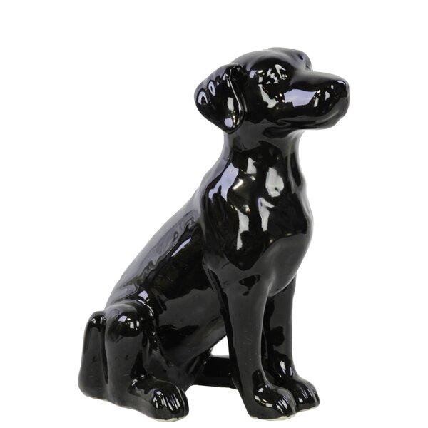 Verlene Hound Dog Figurine by Charlton Home