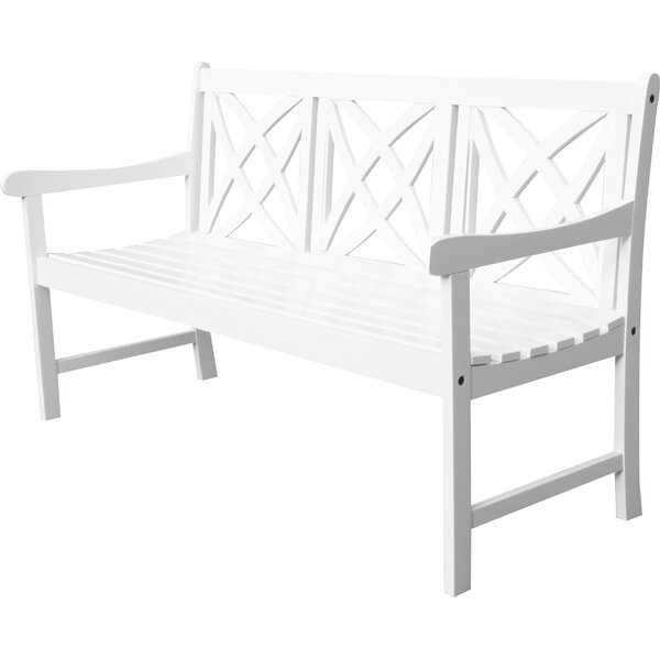 Mahler Wood Garden Bench by Darby Home Co