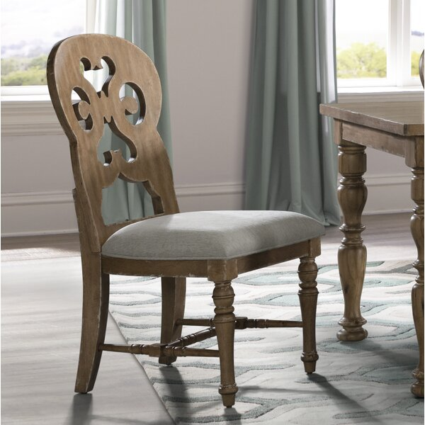 Elena Upholstered Dining Chair (Set of 2) by Ophelia & Co.