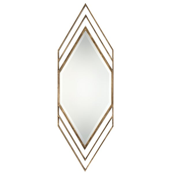 Butte Javon Chevron Accent Mirror by Mercer41