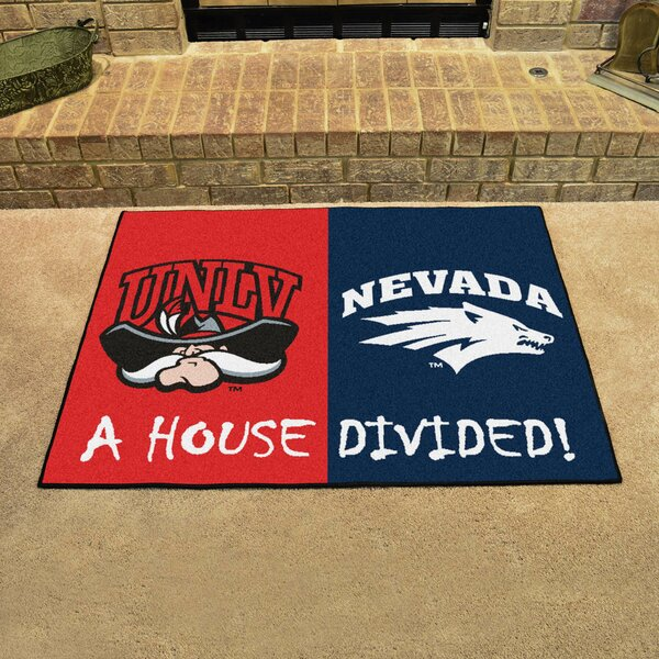 House Divided - UNLV / Nevada Doormat by FANMATS