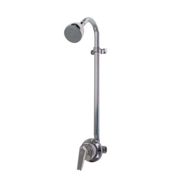 Sentinel Mark II Thermostatic Complete Shower System with Brass Lever Handle by Speakman