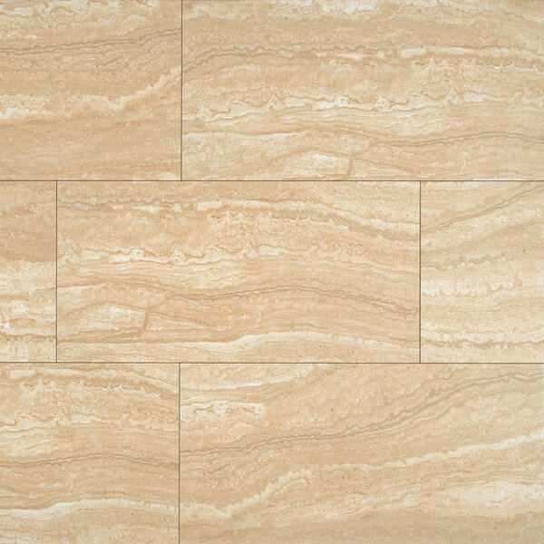 Sigaro 12 x 24 Ceramic Field Tile in Dunes by MSI