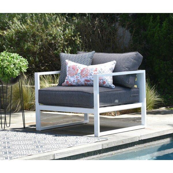 Paloma Patio Chair with Cushions by Elle Decor Elle Decor