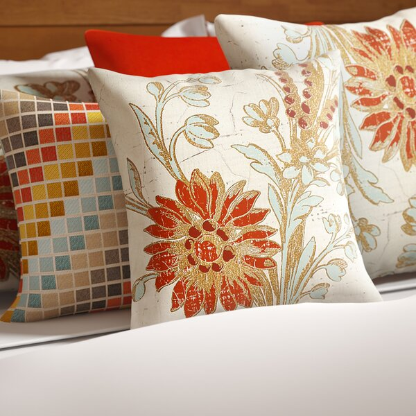 Scullin Printed Throw Pillow by Red Barrel Studio| @ $22.99