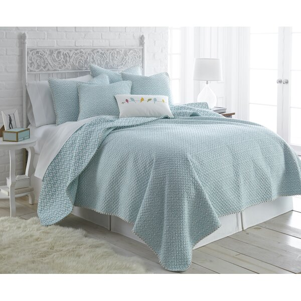 Belize Reversible Quilt Set by Greenland Home Fashions
