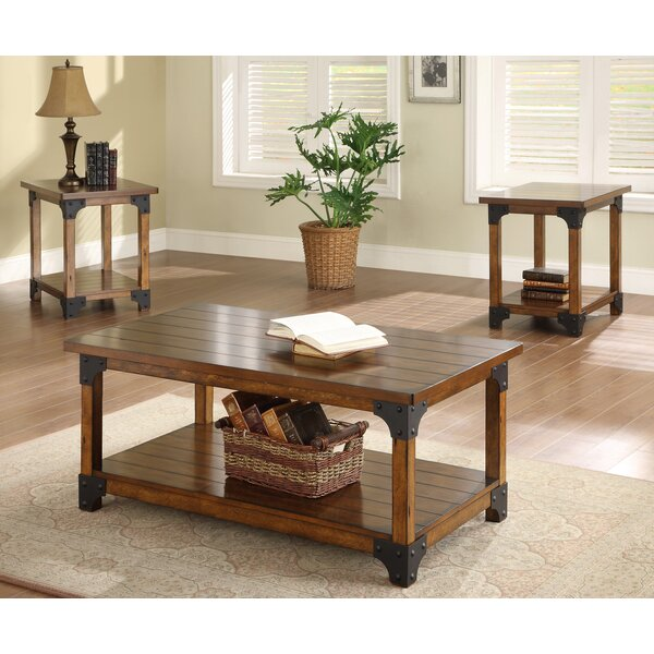 William 3 Piece Coffee Table Set by Crown Mark