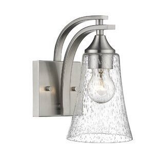 Savings Elaina 1-Light Armed Sconce By Charlton Home