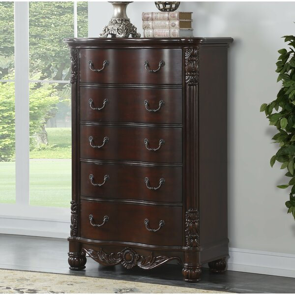 Treyton 5 Drawer Chest by Astoria Grand