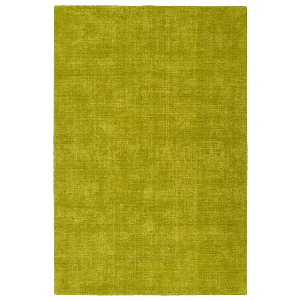 Borica Hand-Loomed Lime Green Indoor/Outdoor Area Rug by Ebern Designs