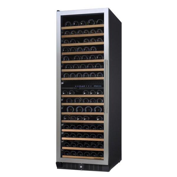 166 Bottle Nfinity Pro Dual Zone Freestanding Wine Cellar by Wine Enthusiast