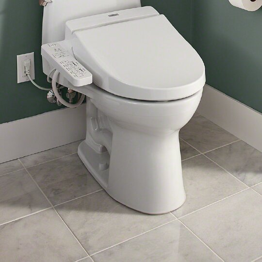 Stupendous Toilet Bidet Combo Wayfair Evergreenethics Interior Chair Design Evergreenethicsorg