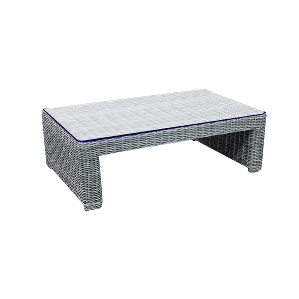 Searle Glass Coffee Table by Ivy Bronx