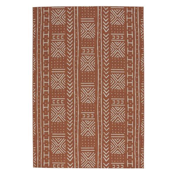 Pillar Mali Cloth Cinnamon Area Rug by Union Rustic