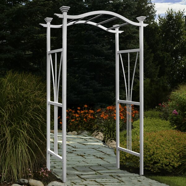 London Vinyl Arbor by New England Arbors