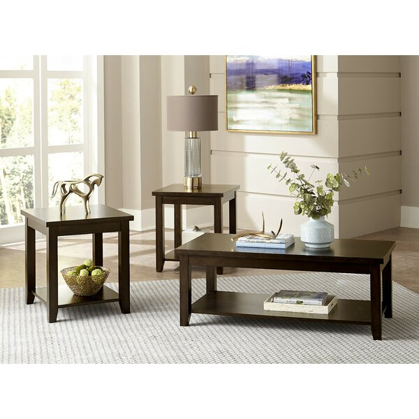 Mereworth 3 Piece Coffee Table Set by Winston Porter