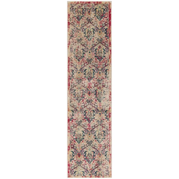 Bayshore Gardens Ivory Area Rug by Bungalow Rose