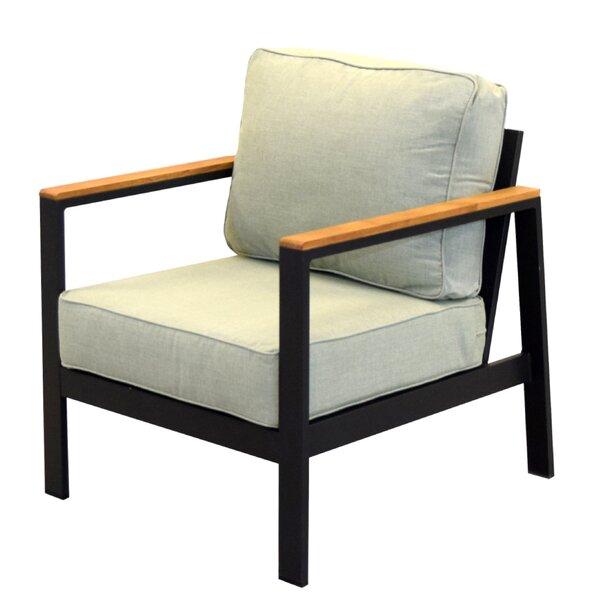 Townsend Outdoor Patio Lounge Chair with Sunbrella Cushions by Brayden Studio Brayden Studio