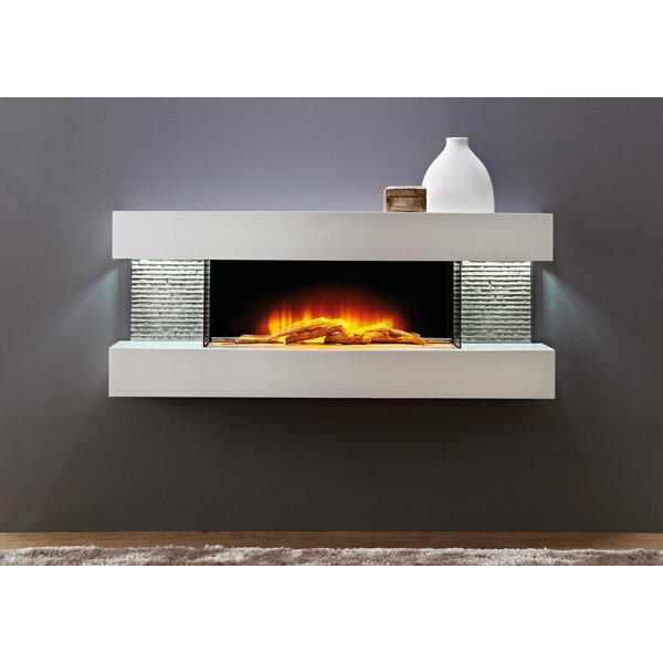 Mahalick Petite Wall Mounted Electric Fireplace by Orren Ellis