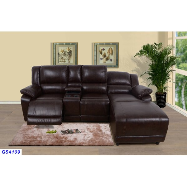 Sador Reclining Sectional by Winston Porter