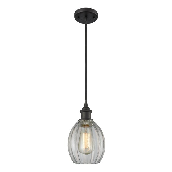 Flomaton 1-Light Globe Pendant by Wrought Studio