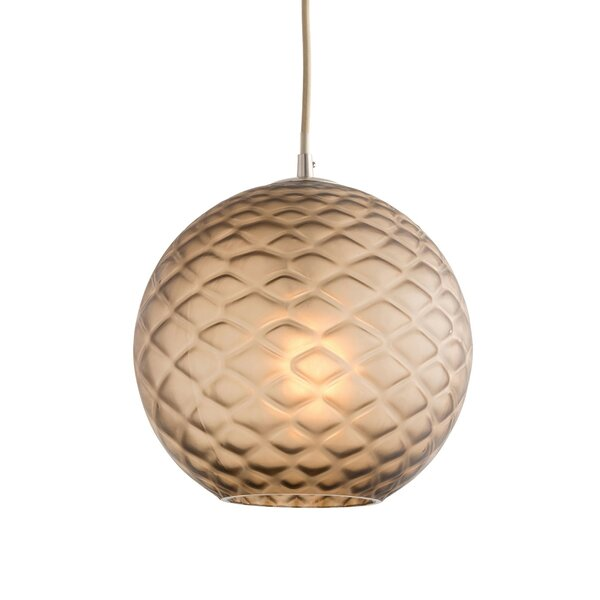 Geraldine 1 Light Globe Pendant By Arteriors ♍ Footstool