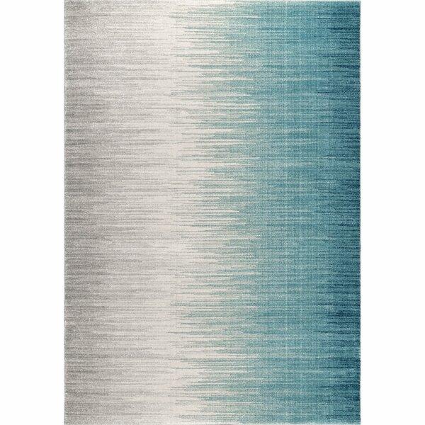 Elisabeth Blue Area Rug by Wrought Studio