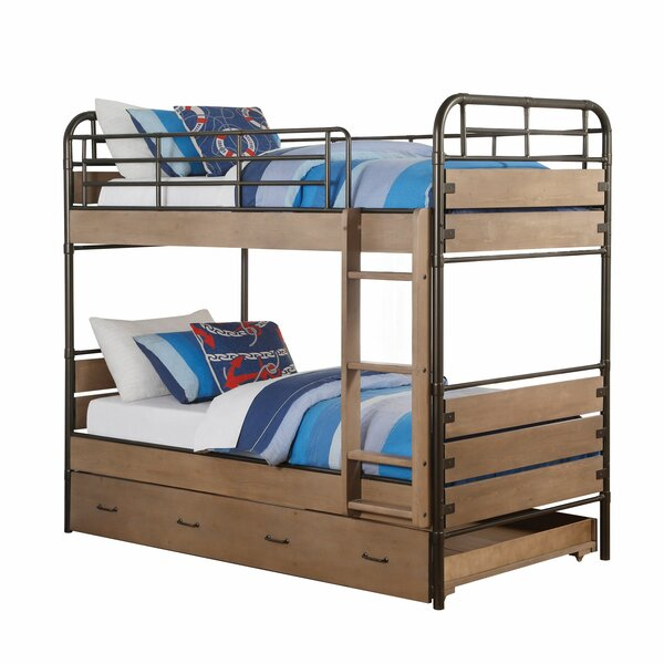 Danyel Twin over Twin Bunk Bed by Harriet Bee