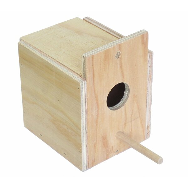 Lila Wooden Nest Box by Tucker Murphy Pet