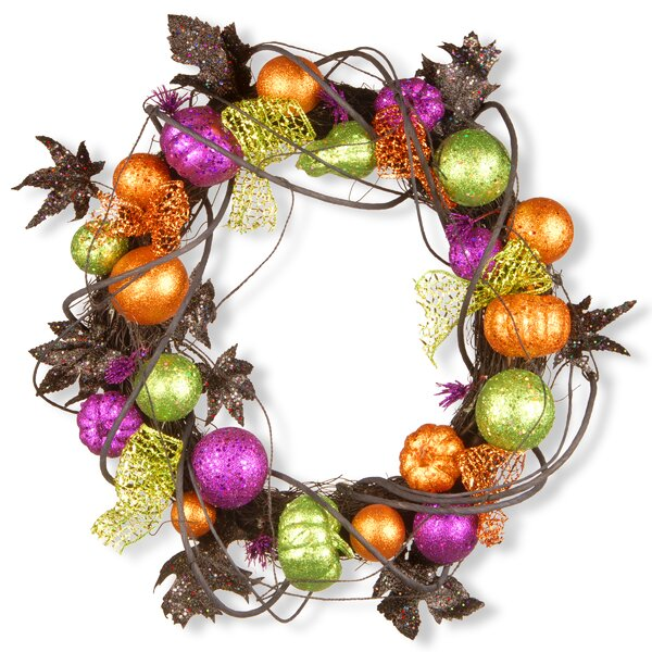 20 Glitter Wreath by National Tree Co.