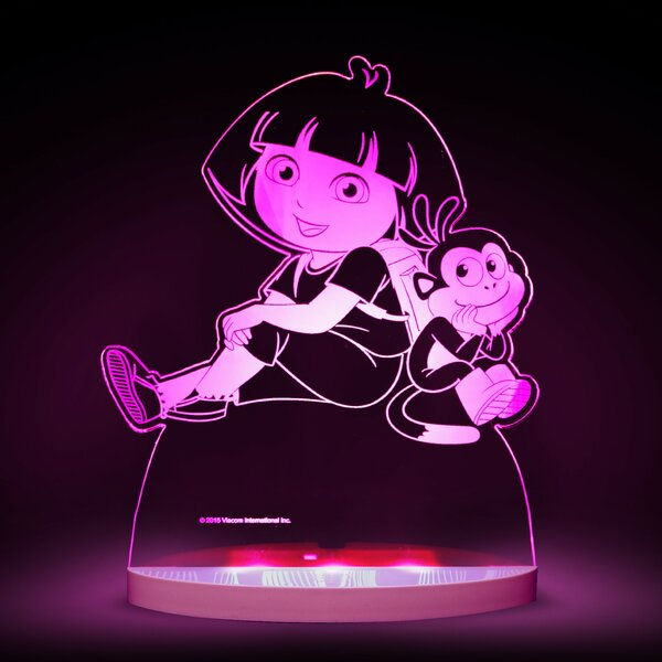 Nickelodeon Dora the Explorer and Boots LED 3-Light Night Light by CompassCo