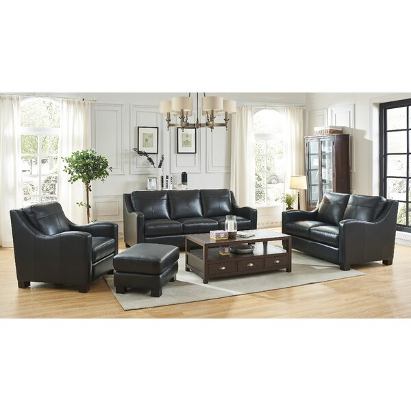 Arlford Leather Configurable Living Room Set By Latitude Run Savings