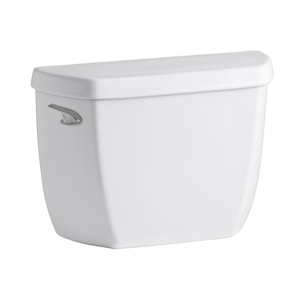 Wellworth Classic 1.28 GPF Toilet Tank with Class Five Flushing Technology by Kohler