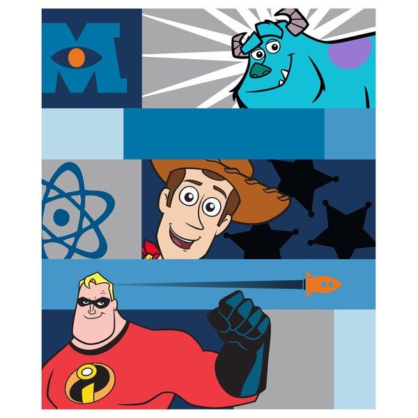 Pixar Filmstrip Fleece Throw by Disney