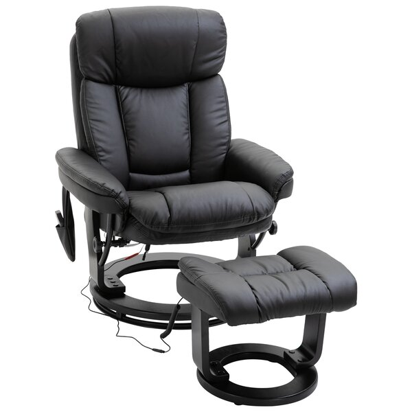 Levy 22 Manual Swivel Recliner with Ottoman W002832127