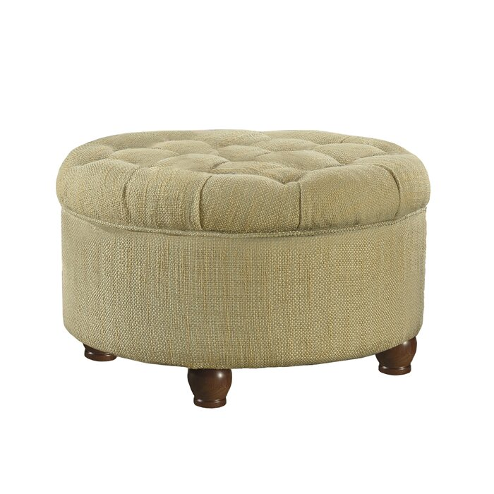 Outstanding Henninger Tufted Storage Ottoman Gmtry Best Dining Table And Chair Ideas Images Gmtryco